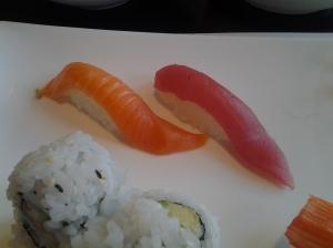 Salmon and Tuna Sushi