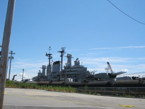 The USS Salem