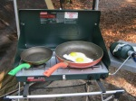 The Coleman Camp Stove.