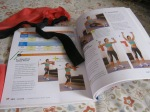 Workout Magazine and Stretchy Exercise Cords
