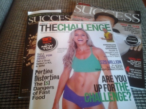My Challenge and Success Magazines