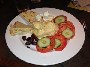 Healthy Mediterranean Plate from Angelos