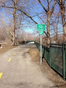 Walking the Blackstone Valley Bike Path